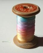 Rainbow thread_Complex Textile